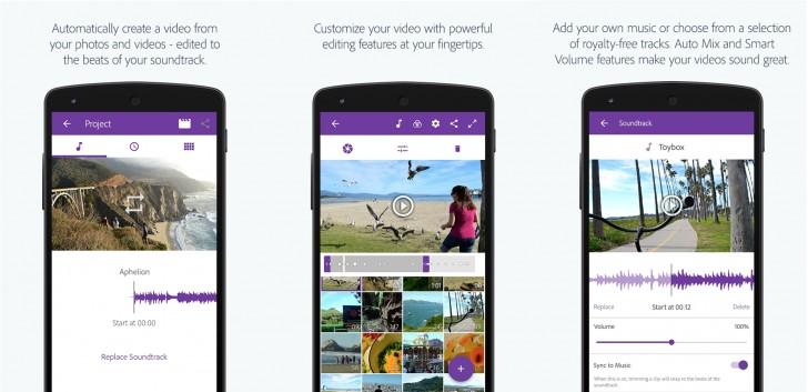 Adobe Premiere Clip app