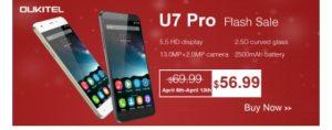 Oukitel u7 pro snap up deal